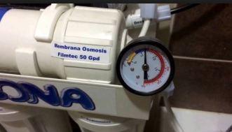 presion membrana